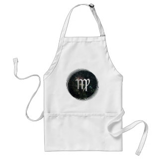 Virgo Zodiac Star Sign Universe Crafts Cook Chef Aprons