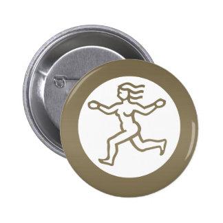 VIRGO - ZODIAC Symbol Button