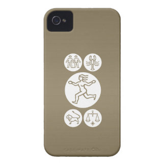 VIRGO -  ZODIAC Symbol iPhone 4 Case-Mate Case
