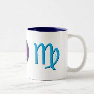 Virgo Zodiac Symbol Mug
