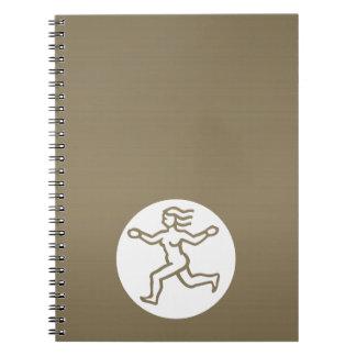 VIRGO -  ZODIAC Symbol Spiral Notebooks