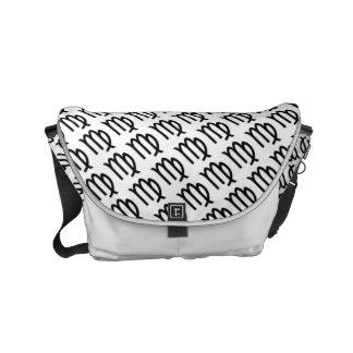 Virgo Zodiac Symbol Standard Messenger Bag
