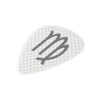 Virgo Zodiac Symbol Standard Polycarbonate Guitar Pick