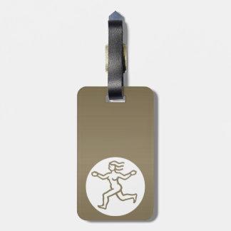VIRGO -  ZODIAC Symbol Tag For Bags