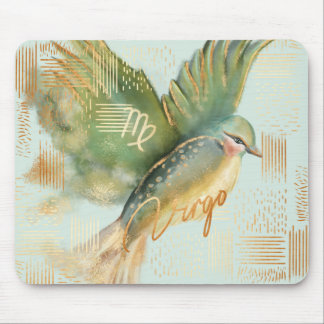 Virgo Zodiac Watercolour Artistry mousepad