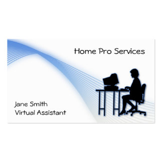Virtual Assistant Business Card