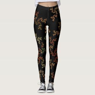 Virtual autumn Background Custom Legging