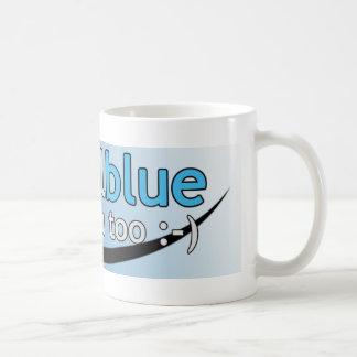 Virtual Blue Coffee Mug