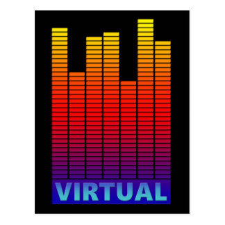 Virtual levels. postcard