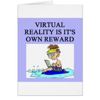 VIRTUAL reality Card