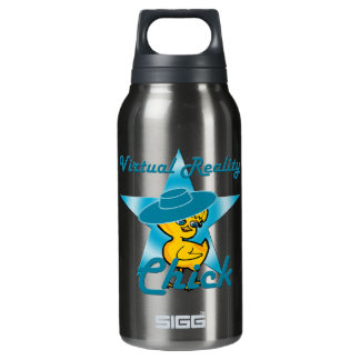 Virtual Reality Chick #7 Insulated Water Bottle