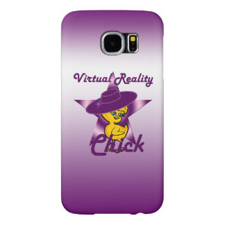 Virtual Reality Chick #9 Samsung Galaxy S6 Cases