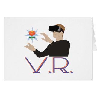 Virtual Reality V.R. Card