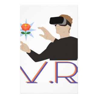 Virtual Reality V.R. Stationery