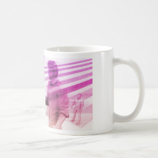 Virtualization Business Technology as an Abstract Coffee Mug
