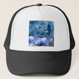 Virtue expose the truth trucker hat