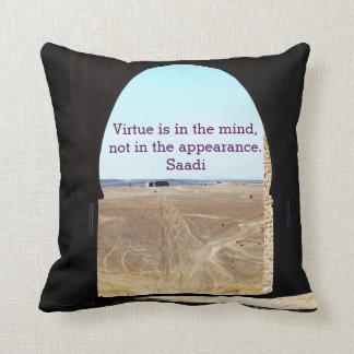 Virtue Throw Cushions