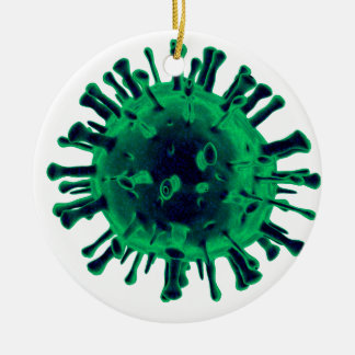 Virus Ceramic Ornament