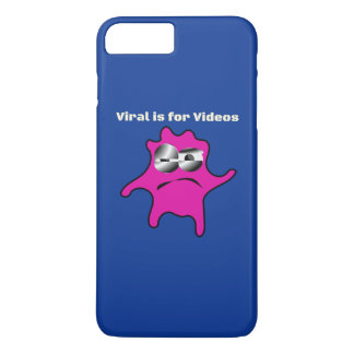 Virus Germs Contagious Viral is for Videos iPhone 8 Plus/7 Plus Case