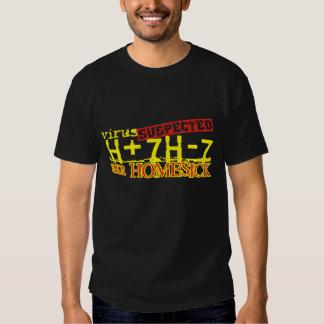 virus H+7H-7 Tee Shirts