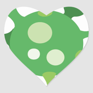 Virus Heart Sticker