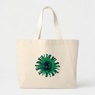 Virus Large Tote Bag