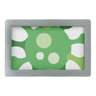 Virus Rectangular Belt Buckles