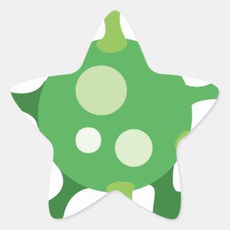Virus Star Sticker