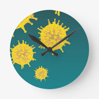 virus wallclocks