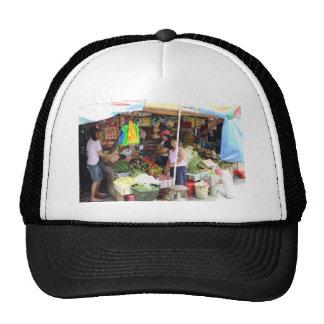 Visayan grocery store hats