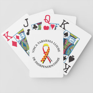 Visca Tabarnia Lliure de Independentisme Bicycle Playing Cards