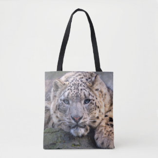 Vishnu Snow Leopard All Over Print Bag