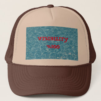 Visibility %100 Trucker Hat