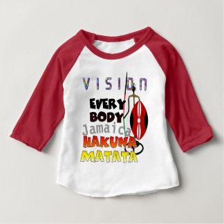 Vision Everybody Jamaica Hakuna Matata Baby T-Shirt