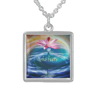 Vision Intention Sterling Silver Necklace