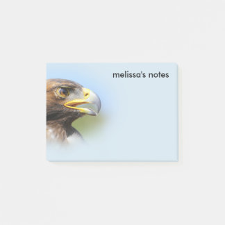 Vision of a Beautiful Young Golden Eagle Post-it Notes