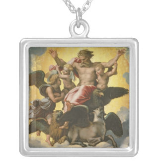 Vision of Ezekiel, c.1518 Silver Plated Necklace