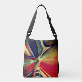 Vision of Hardly Visible Poetry Crossbody Bag