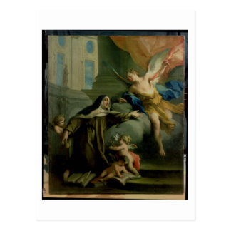 Vision of St. Teresa Postcard