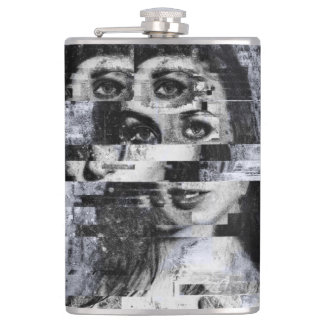 Vision Through Chaos Hip Flask