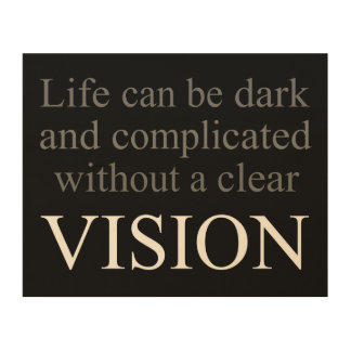 Vision Wood Canvases