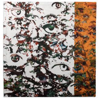 Visionary Abstract Napkin