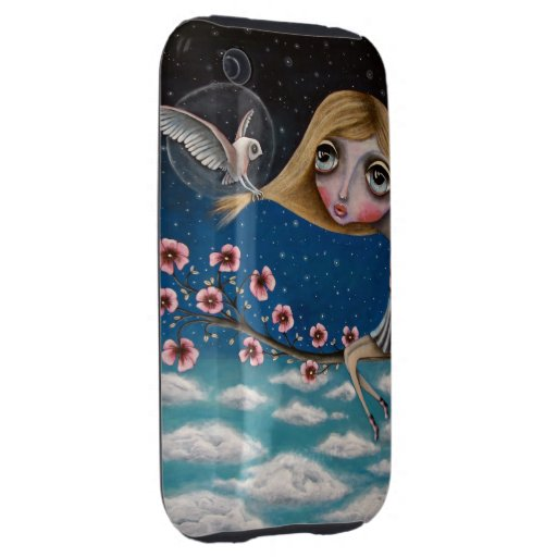 Visionary Girl iPhone 3G case Tough iPhone 3 Cover