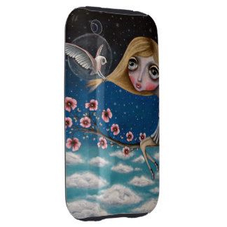 Visionary Girl iPhone 3G case iPhone 3 Tough Case