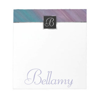 Visionary Office | Name Pink Purple Teal Blue | Notepad