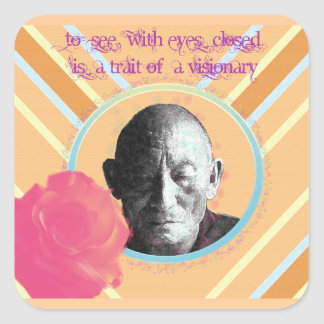 Visionary Square Sticker
