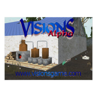 Visions Master's House Poster