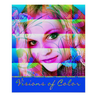 VISIONS OF COLOR POSTER PRINT