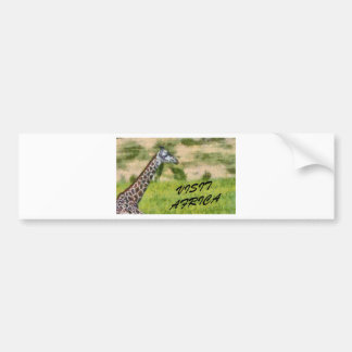 Visit Africa Bumper Sticker