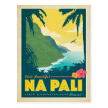 Visit Beautiful Na Pali, Hawaii Postcard